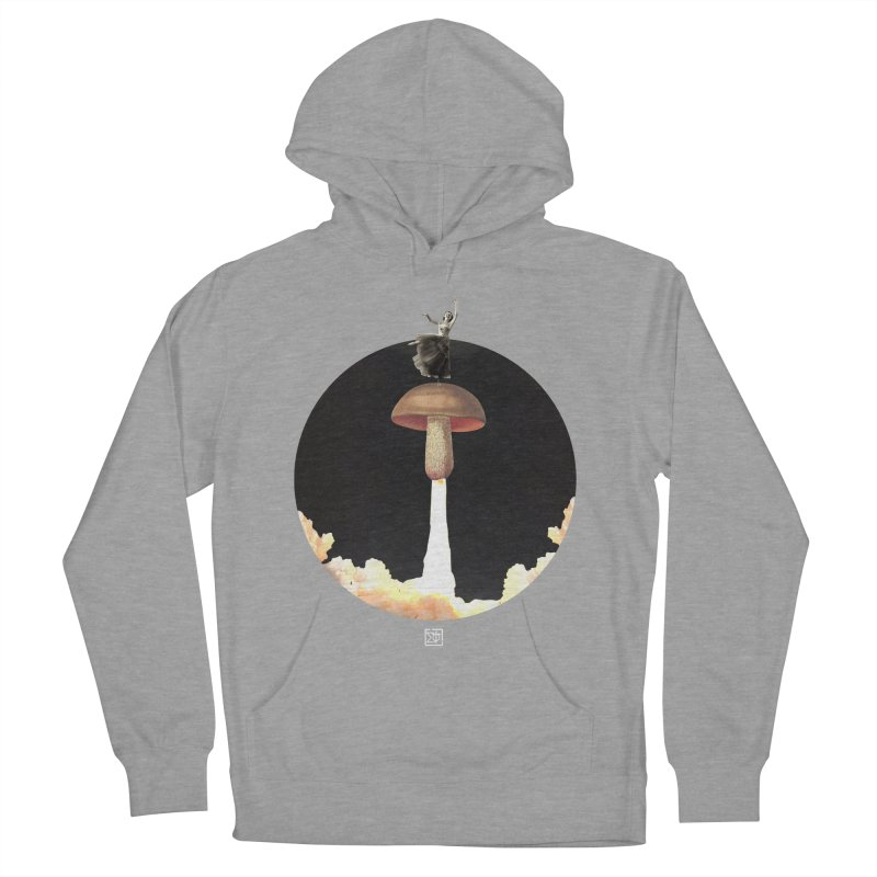 Mushroom Rocket Men's Pullover Hoody by sigmablade collage
