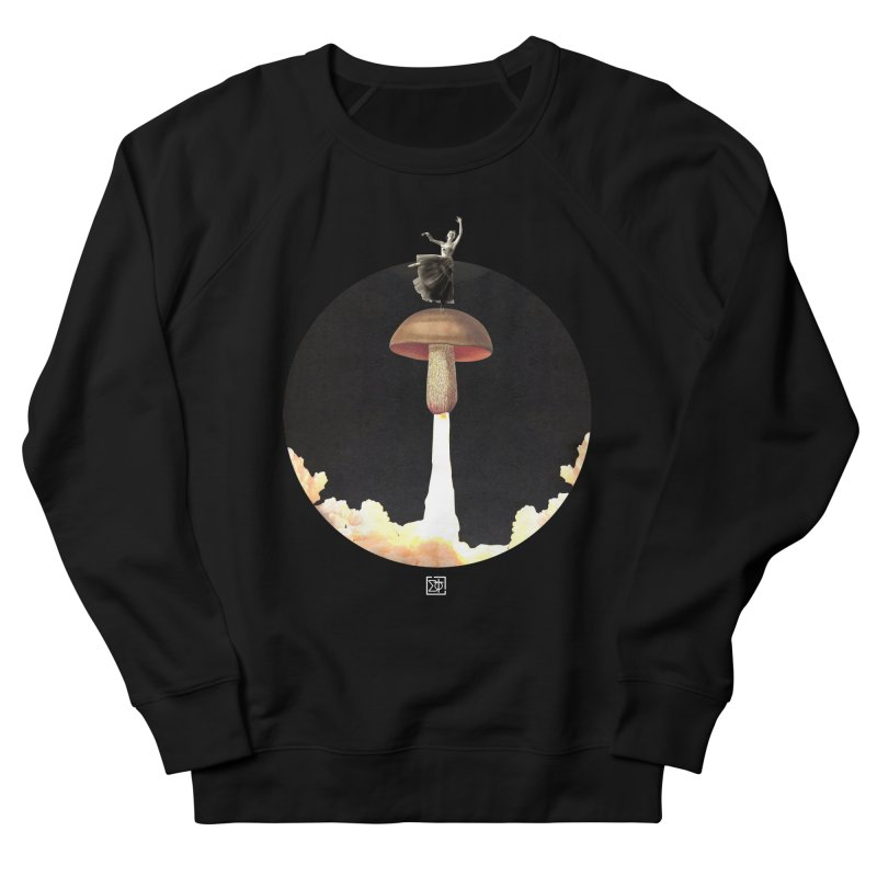 Mushroom Rocket Men's Sweatshirt by sigmablade collage