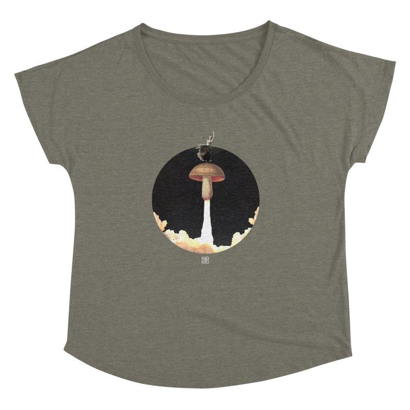 Mushroom Rocket Women's Dolman by sigmablade collage