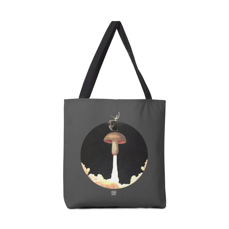 Mushroom Rocket Accessories Bag by sigmablade collage