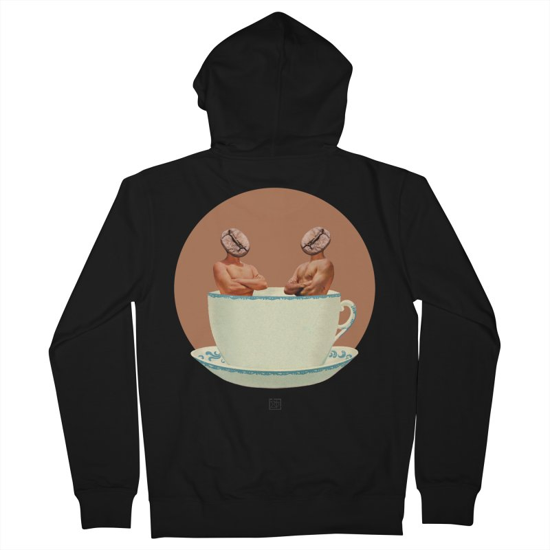 Coffee Connoisseurs Women's French Terry Zip-Up Hoody by sigmablade collage