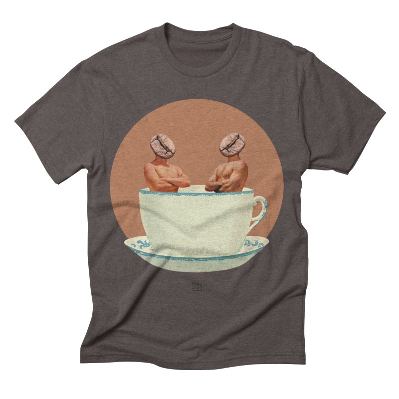 Coffee Connoisseurs Men's Triblend T-shirt by sigmablade collage