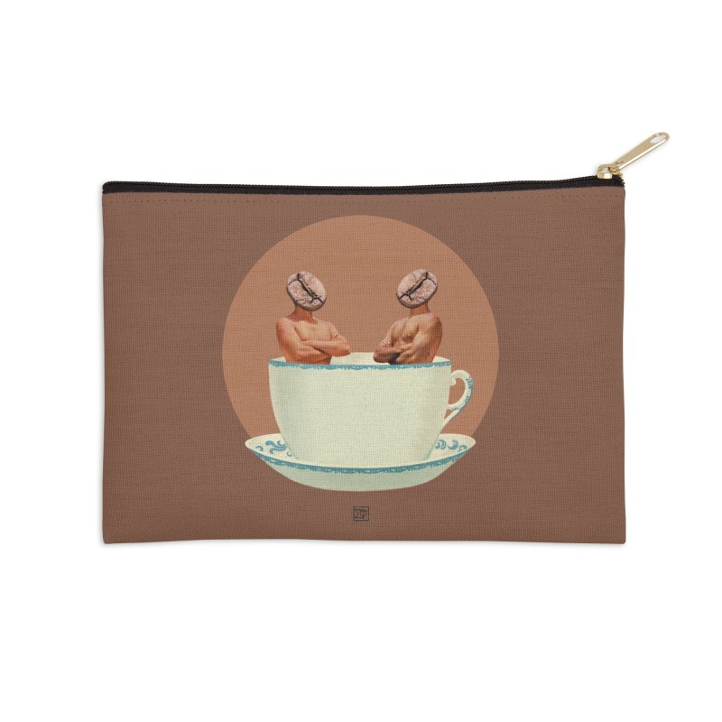 Coffee Connoisseurs Accessories Zip Pouch by sigmablade collage