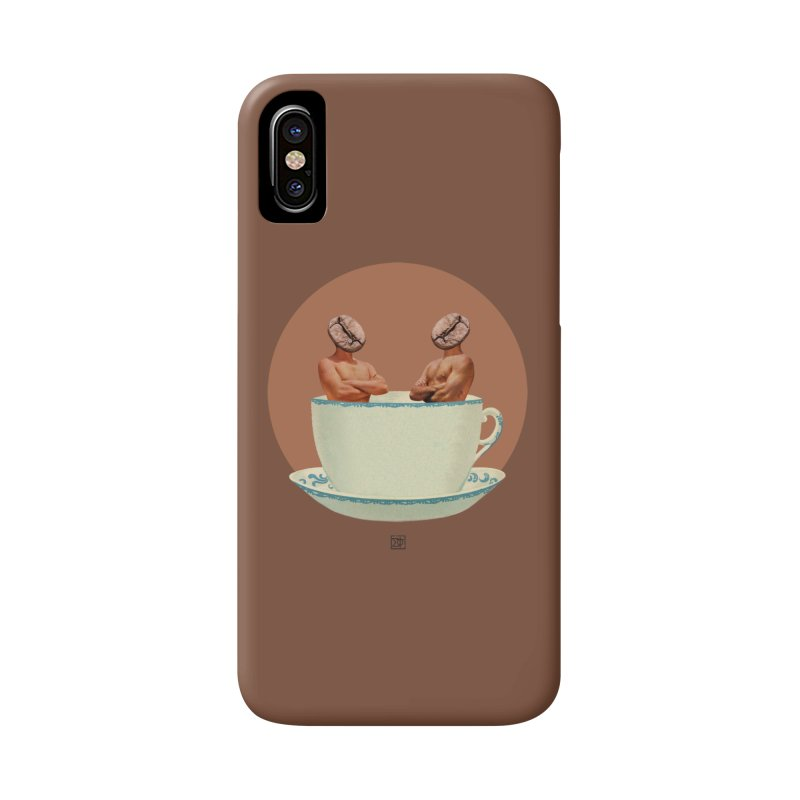 Coffee Connoisseurs Accessories Phone Case by sigmablade collage