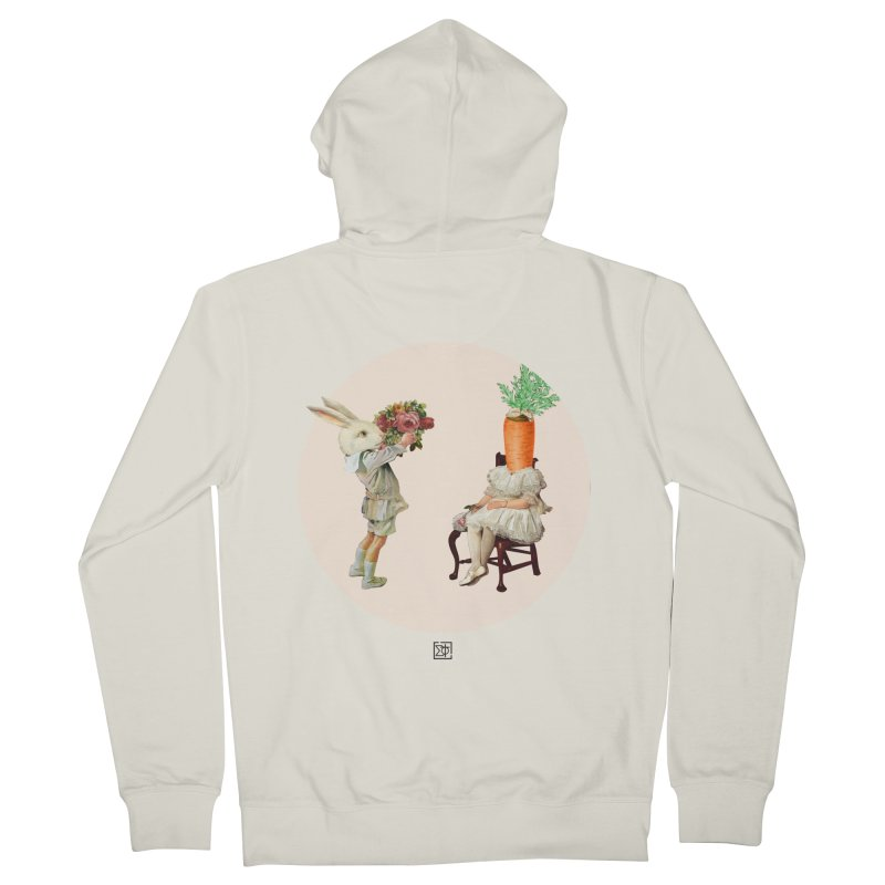 She Said NO Men's Zip-Up Hoody by sigmablade collage