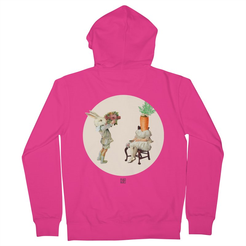 She Said NO Men's French Terry Zip-Up Hoody by sigmablade collage