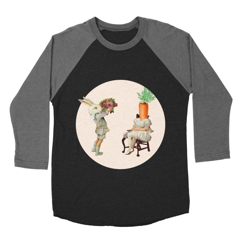 She Said NO Men's Baseball Triblend Longsleeve T-Shirt by sigmablade collage