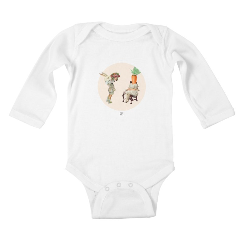 She Said NO Kids Baby Longsleeve Bodysuit by sigmablade collage