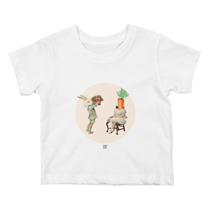 She Said NO Kids Baby T-Shirt by sigmablade collage