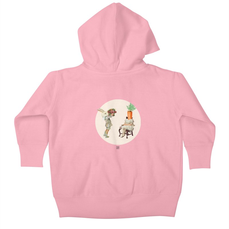 She Said NO Kids Baby Zip-Up Hoody by sigmablade collage