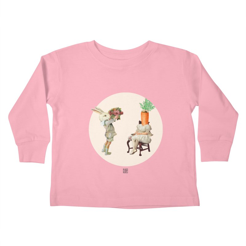 She Said NO Kids Toddler Longsleeve T-Shirt by sigmablade collage
