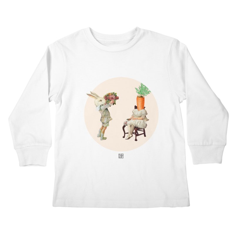 She Said NO Kids Longsleeve T-Shirt by sigmablade collage