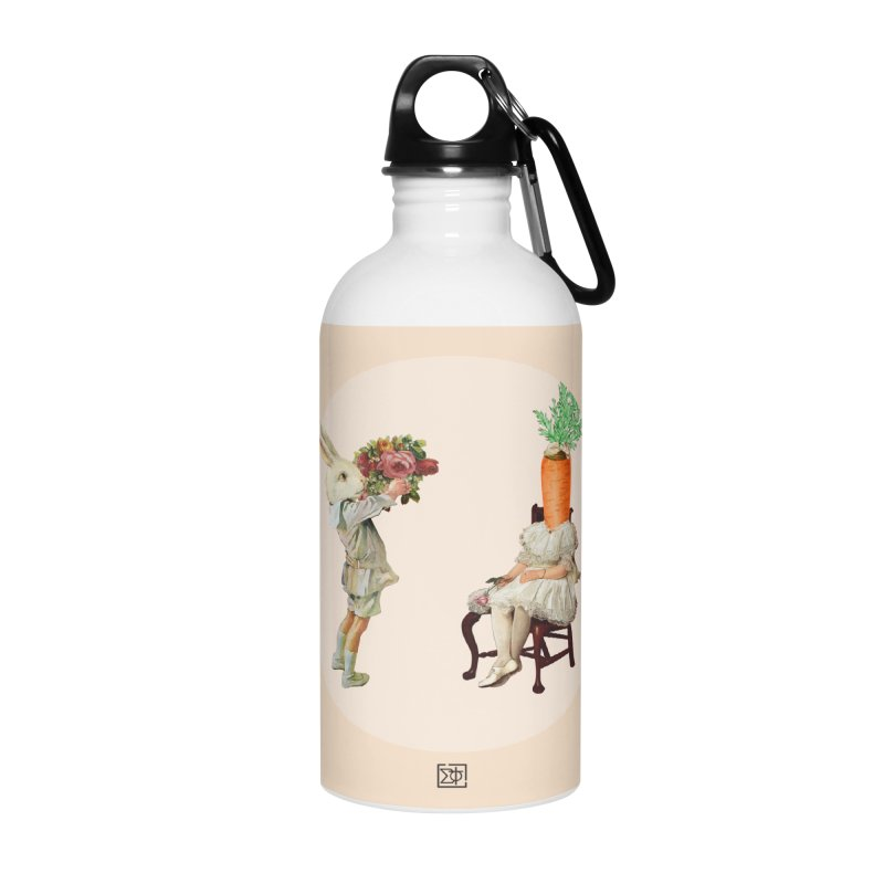 She Said NO Accessories Water Bottle by sigmablade collage