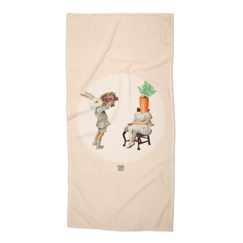 She Said NO Accessories Beach Towel by sigmablade collage