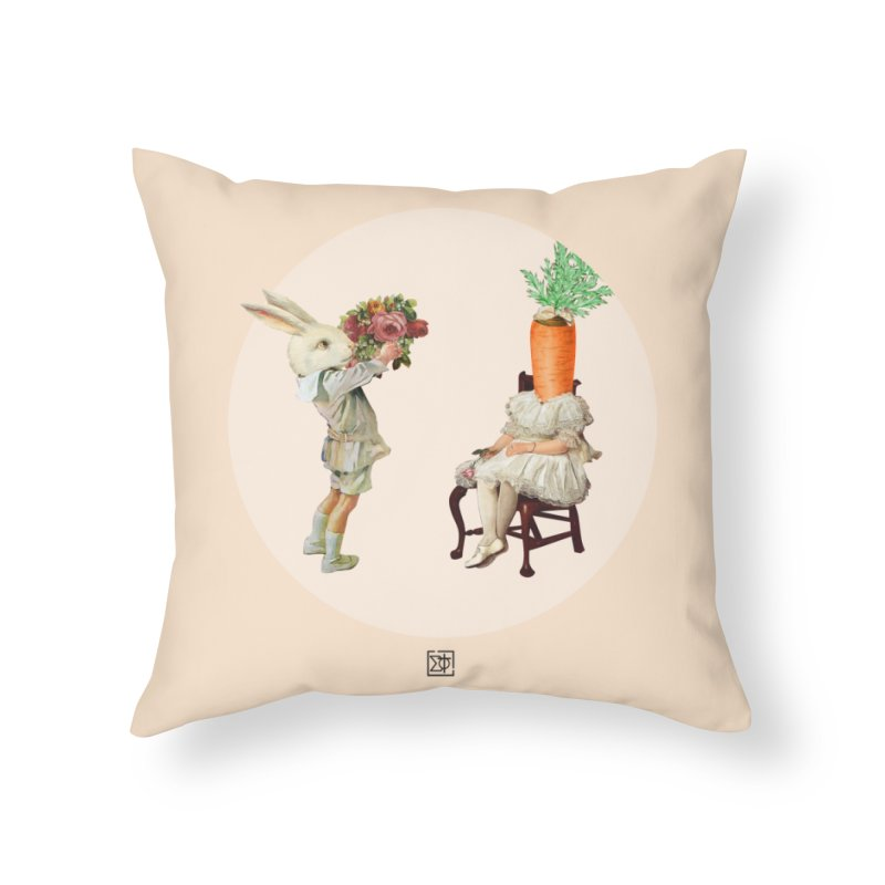 She Said NO Home Throw Pillow by sigmablade collage