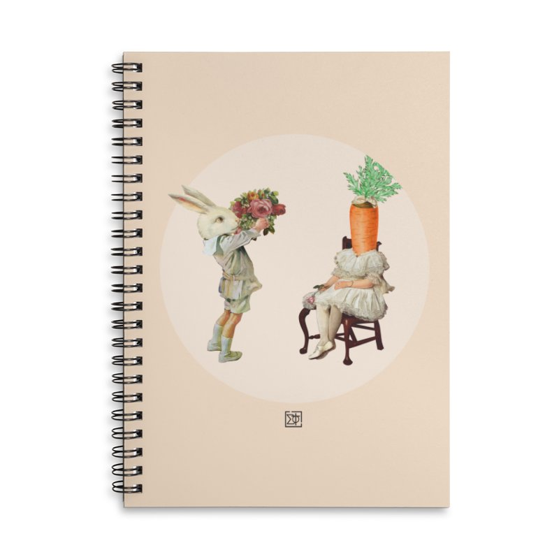 She Said NO Accessories Lined Spiral Notebook by sigmablade collage