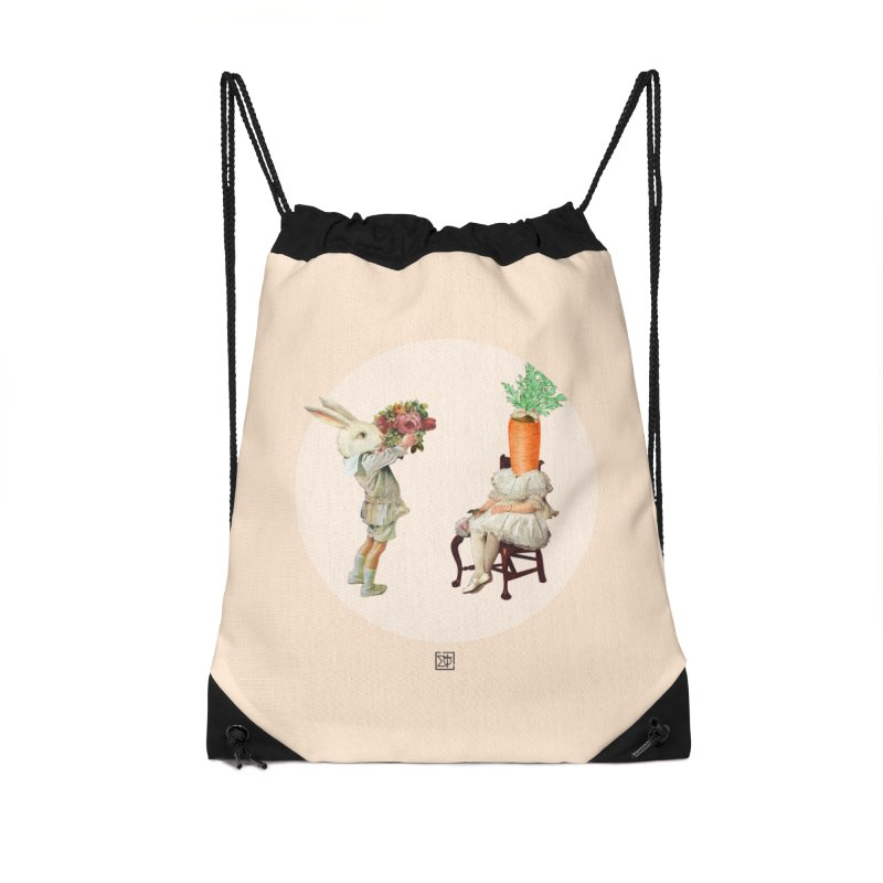 She Said NO Accessories Drawstring Bag Bag by sigmablade collage