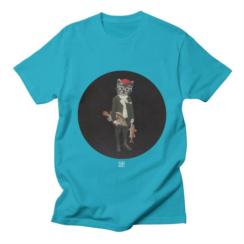 Fishstealer Men's T-Shirt by sigmablade collage