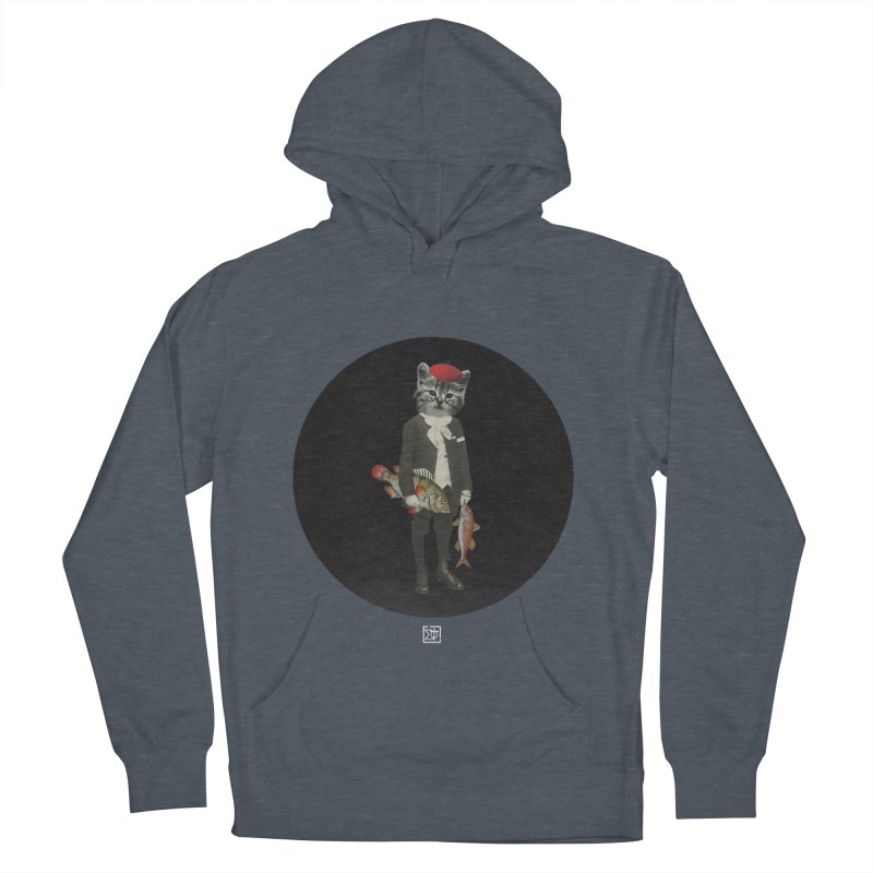 Fishstealer Women's French Terry Pullover Hoody by sigmablade collage