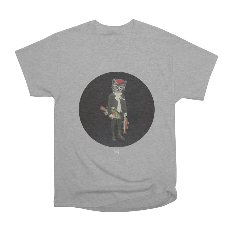 Fishstealer Men's Classic T-Shirt by sigmablade collage