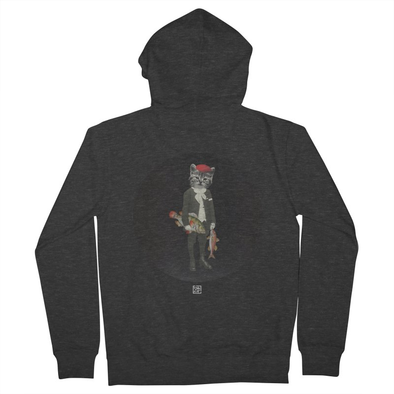 Fishstealer Women's French Terry Zip-Up Hoody by sigmablade collage