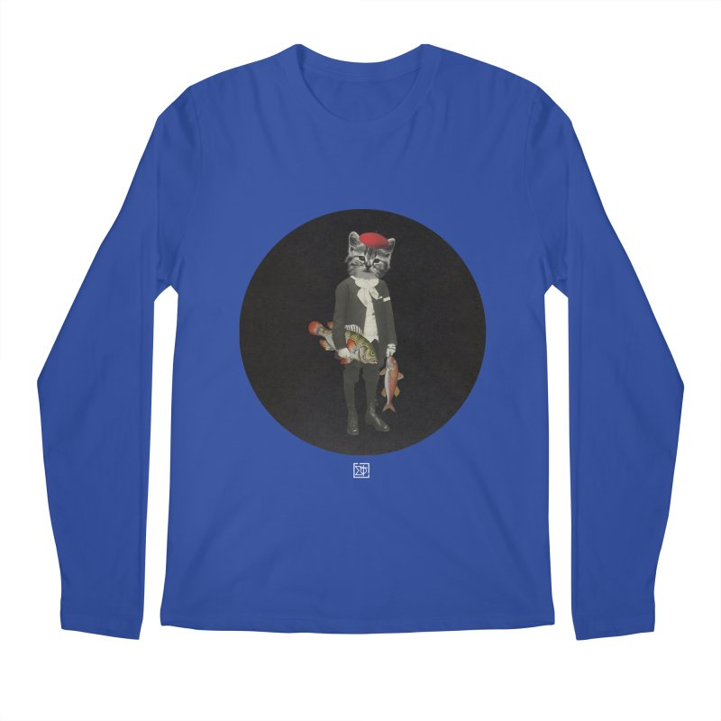 Fishstealer Men's Longsleeve T-Shirt by sigmablade collage