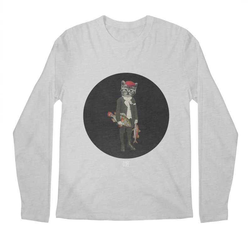 Fishstealer Men's Regular Longsleeve T-Shirt by sigmablade collage