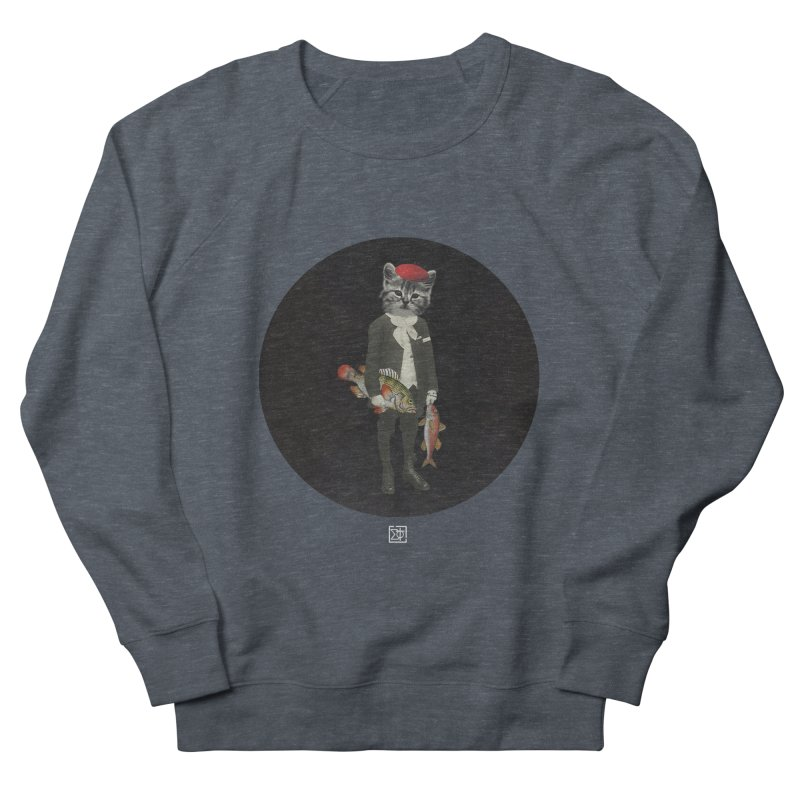 Fishstealer Men's French Terry Sweatshirt by sigmablade collage