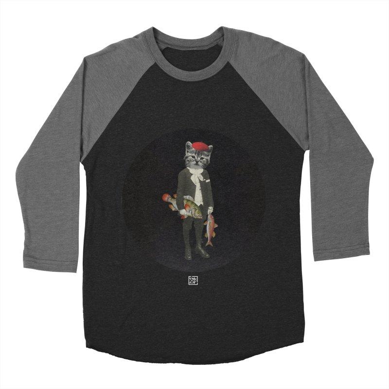 Fishstealer Women's Baseball Triblend Longsleeve T-Shirt by sigmablade collage