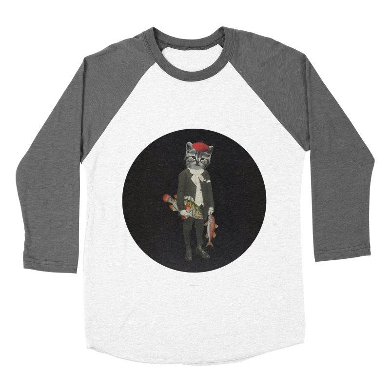 Fishstealer Men's Baseball Triblend T-Shirt by sigmablade collage