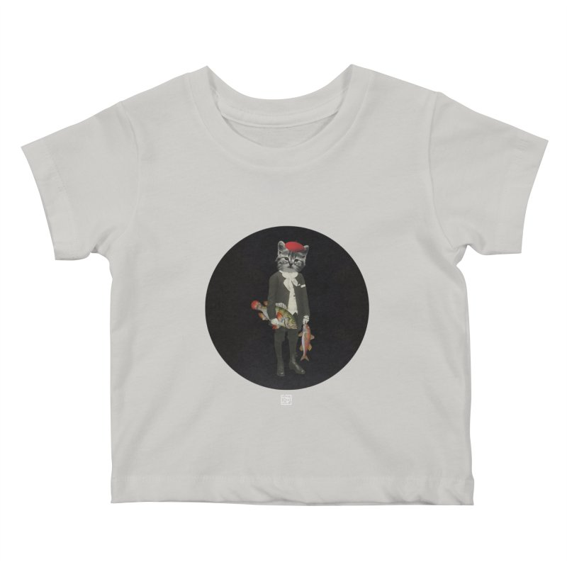 Fishstealer Kids Baby T-Shirt by sigmablade collage
