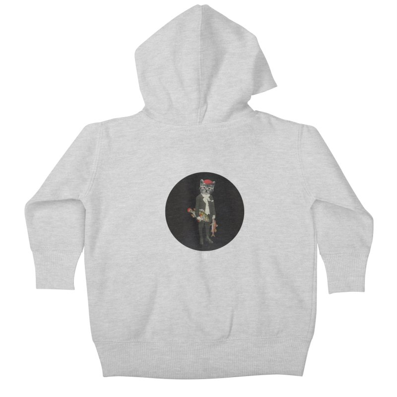 Fishstealer Kids Baby Zip-Up Hoody by sigmablade collage