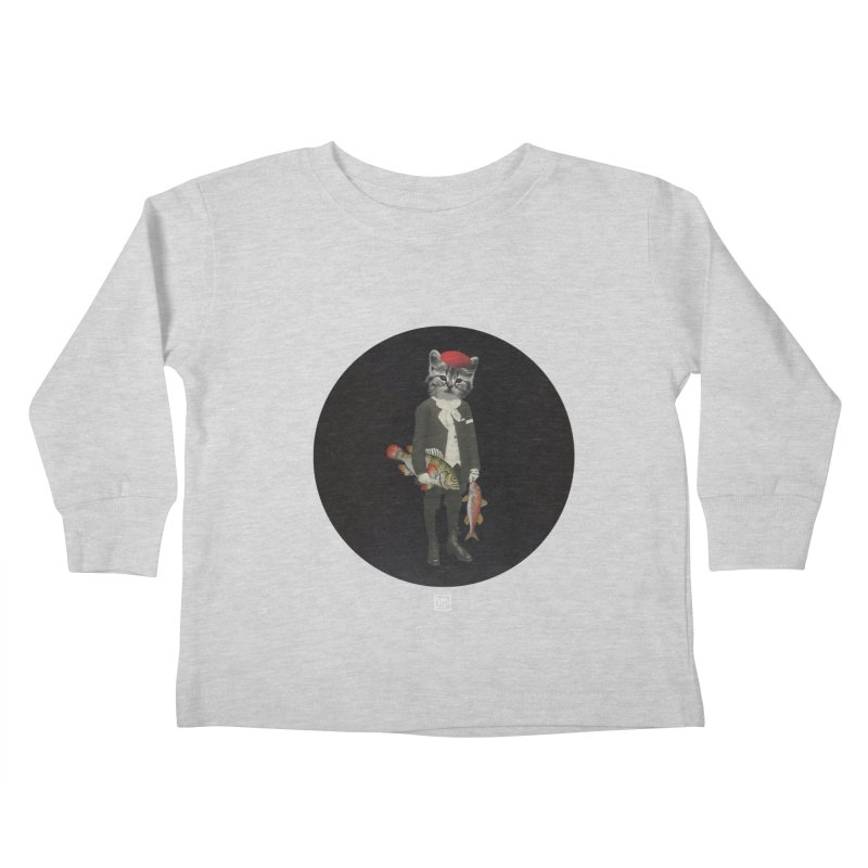 Fishstealer Kids Toddler Longsleeve T-Shirt by sigmablade collage