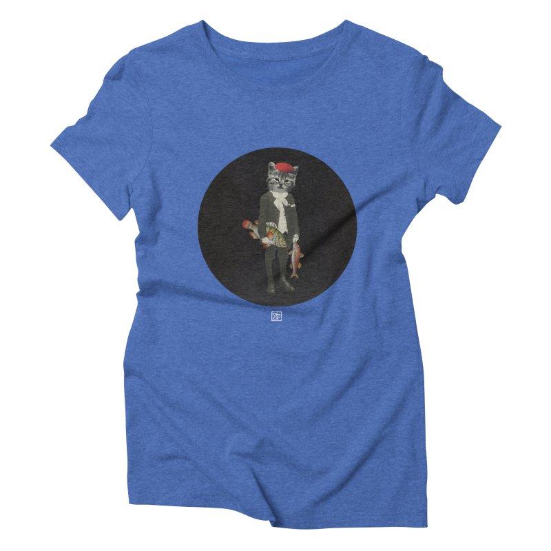Fishstealer Women's Triblend T-Shirt by sigmablade collage