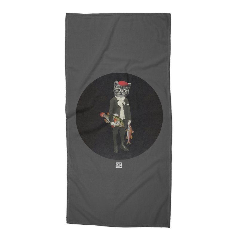 Fishstealer Accessories Beach Towel by sigmablade collage
