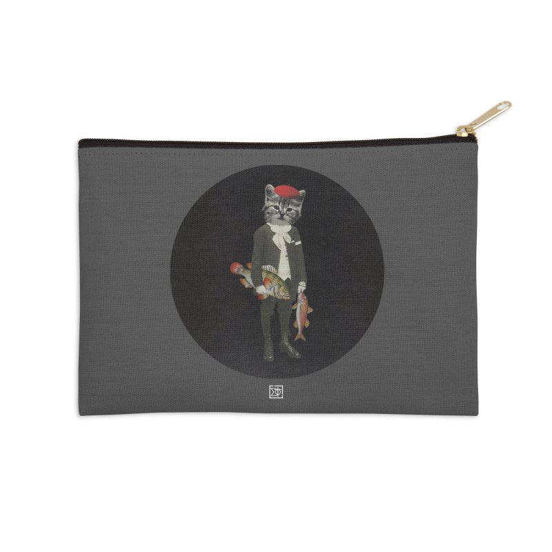 Fishstealer Accessories Zip Pouch by sigmablade collage
