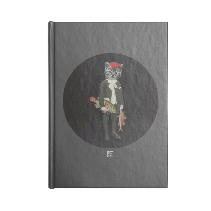 Fishstealer Accessories Lined Journal Notebook by sigmablade collage