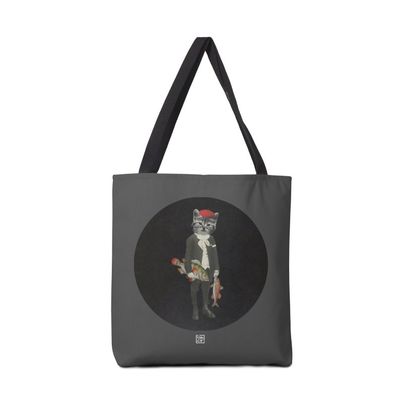 Fishstealer Accessories Tote Bag Bag by sigmablade collage