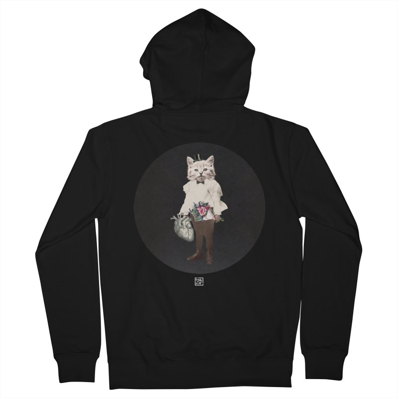 Heartstealer Men's French Terry Zip-Up Hoody by sigmablade collage