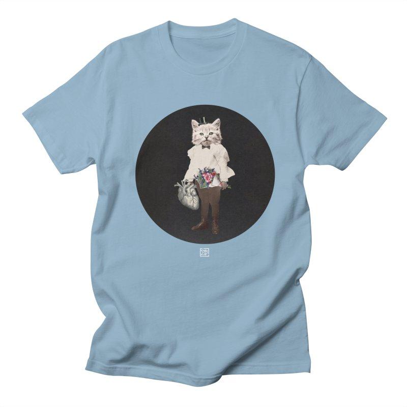 Heartstealer Men's Regular T-Shirt by sigmablade collage