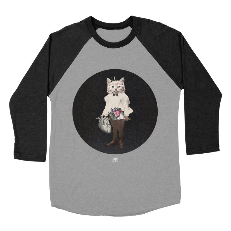 Heartstealer Women's Baseball Triblend Longsleeve T-Shirt by sigmablade collage