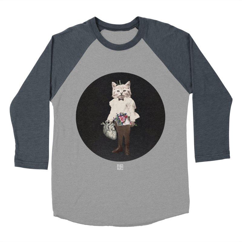 Heartstealer Men's Baseball Triblend Longsleeve T-Shirt by sigmablade collage