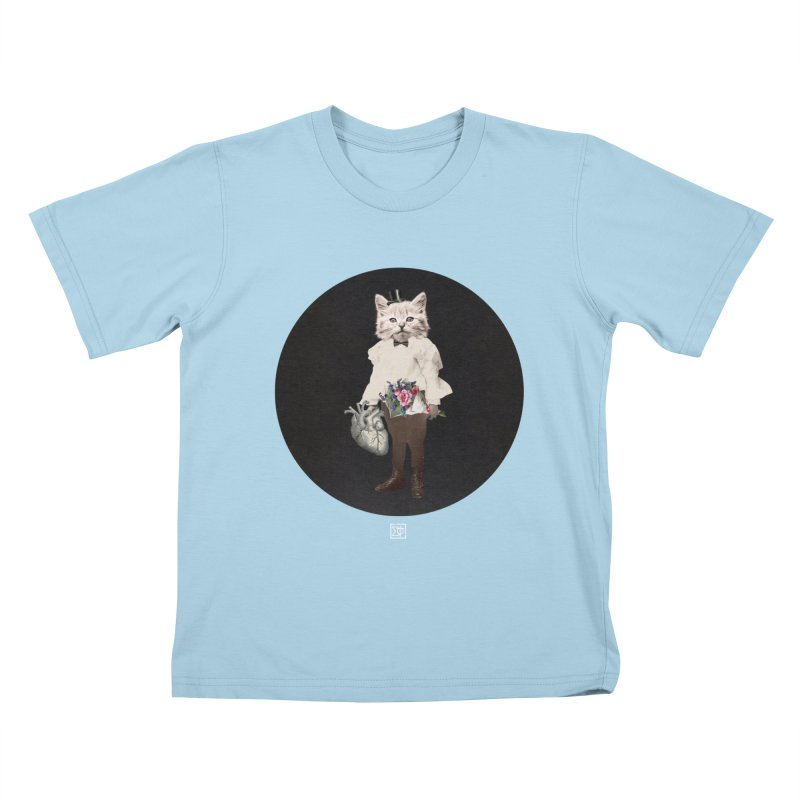 Heartstealer Kids T-Shirt by sigmablade collage
