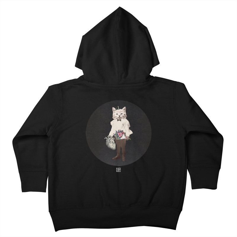 Heartstealer Kids Toddler Zip-Up Hoody by sigmablade collage