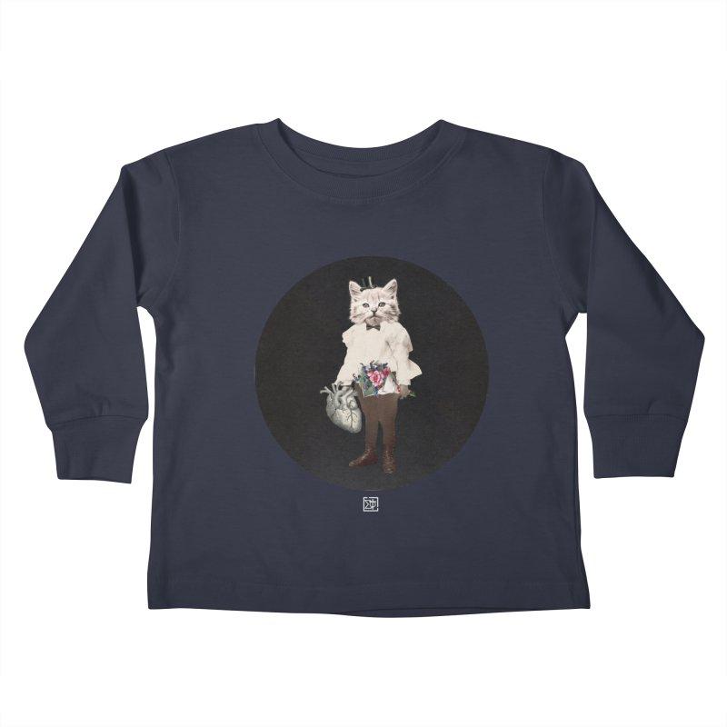 Heartstealer Kids Toddler Longsleeve T-Shirt by sigmablade collage