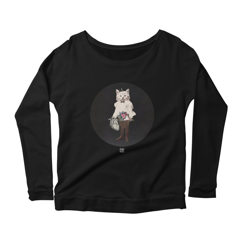 Heartstealer Women's Scoop Neck Longsleeve T-Shirt by sigmablade collage