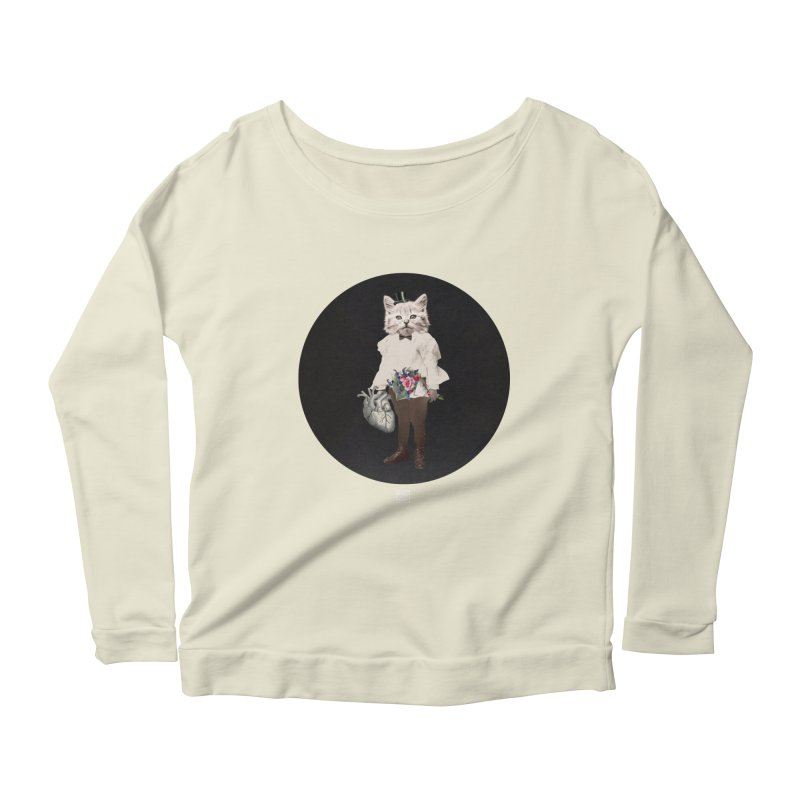 Heartstealer Women's Longsleeve Scoopneck  by sigmablade collage