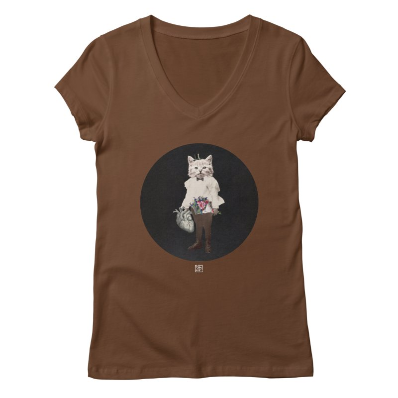 Heartstealer Women's V-Neck by sigmablade collage