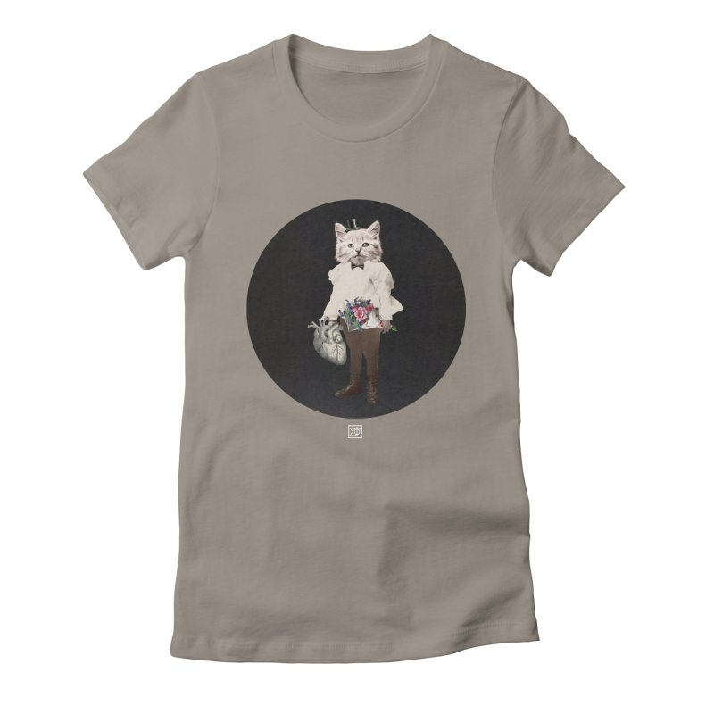 Heartstealer Women's Fitted T-Shirt by sigmablade collage