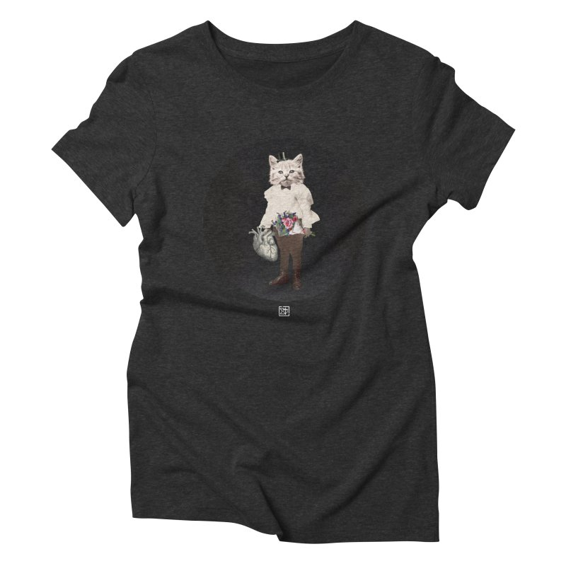 Heartstealer Women's Triblend T-Shirt by sigmablade collage